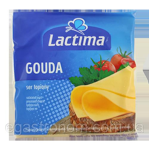 Сір тостовий Лактіма гауда Lactima 130g 10шт/ящ (Код : 00-00003441)