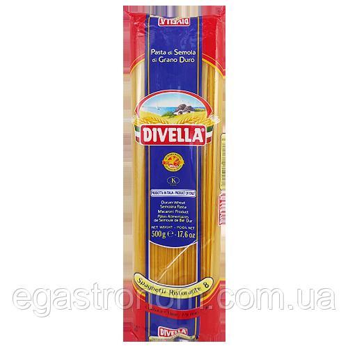 Макарони Дівелла №8 Рестор Divella Ristor 500g (Код : 00-00004143)