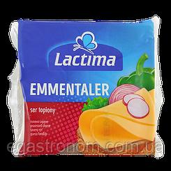 Сир тостовий Лактіма емменталь Lactima 130g 10шт/ящ (Код : 00-00003460)