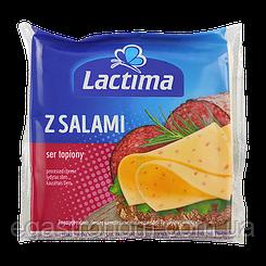 Сир тостовий Лактіма салямі Lactima 130g 10шт/ящ (Код : 00-00003446)