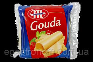 Сир тостовий Млековіта гауда Mlekovita gouda 130g 12шт/ящ (Код : 00-00005398)