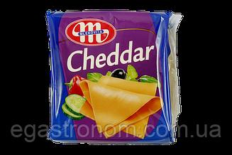 Сір тостовий Млековіта чедер Mlekovita cheddar 130g 12шт/ящ (Код : 00-00005399)