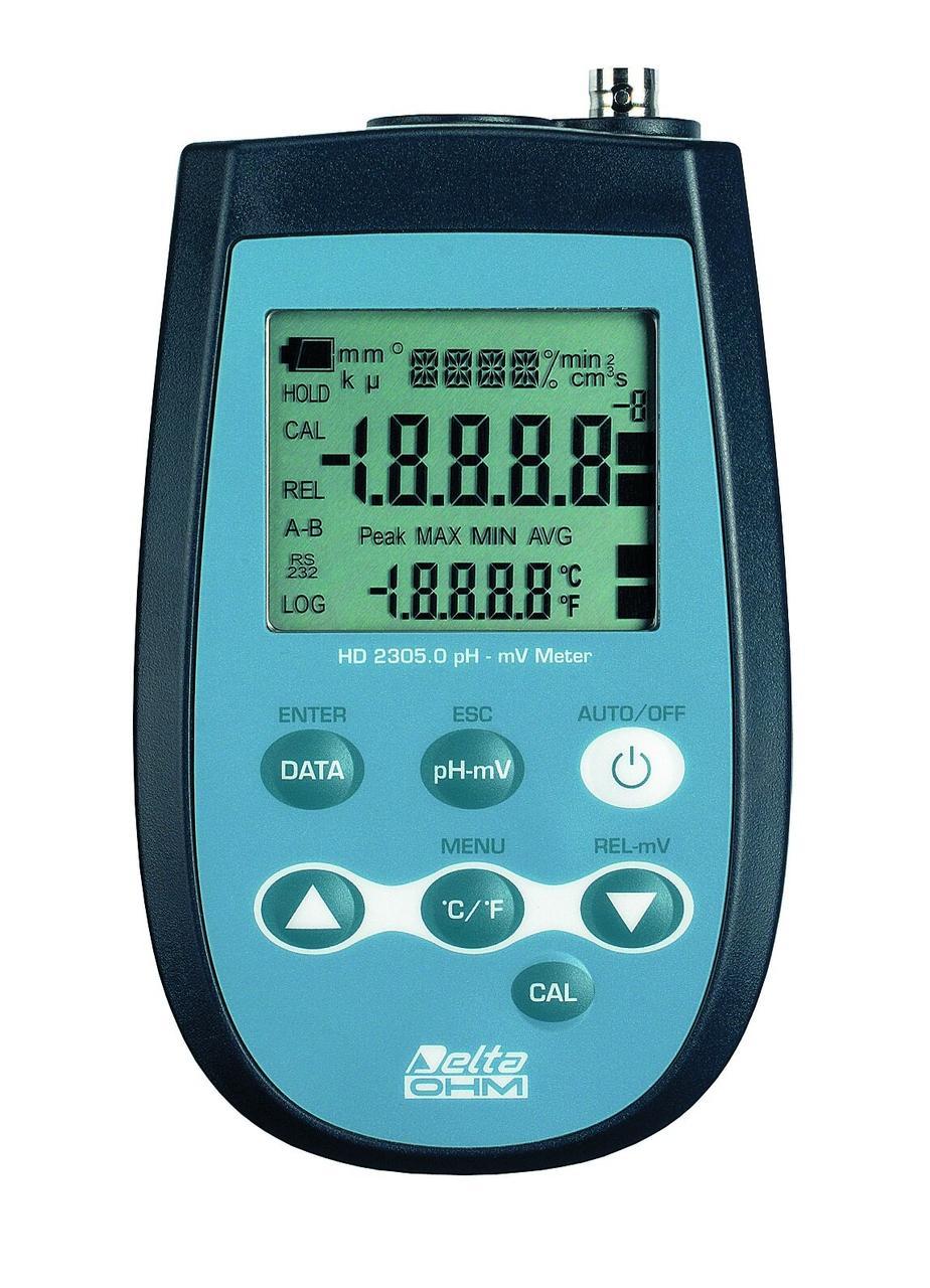 Delta OHM HD-2305.0 рН-метр/ОВП-метр/термометр для водних розчінів