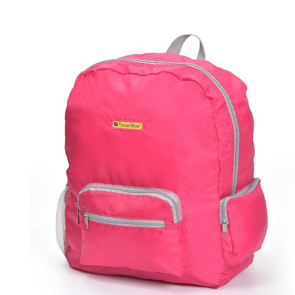 Складной рюкзак для путешествий Travel Blue Folding Backpack 20 литров розовый (065P)