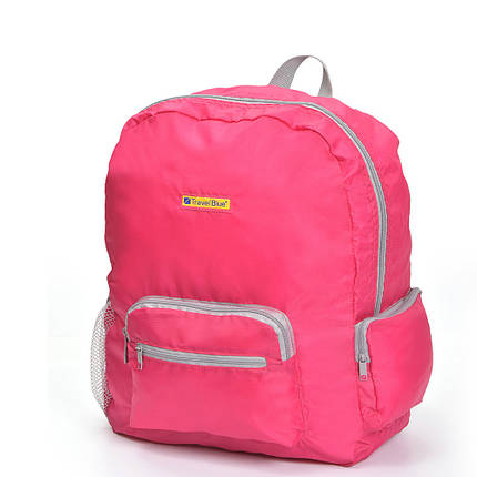 Складной рюкзак для путешествий Travel Blue Folding Backpack 20 литров розовый (065P), фото 2