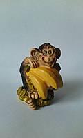 Мартышка с бананами 3D