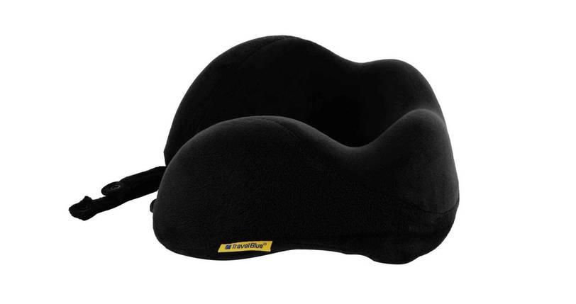 Подушка для путешествий под шею с эффектом памяти Travel Blue Tranquility Pillow черная (212BL), фото 2