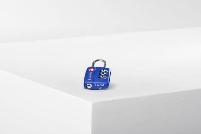 Замок навесной для багажа Travel Blue TSA красный (036B), фото 2