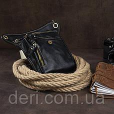 Сумка на пояс Vintage 14659 Чорна, Чорний, фото 2
