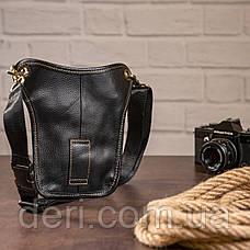 Сумка на пояс Vintage 14659 Чорна, Чорний, фото 3