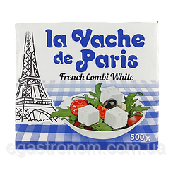 Сир Фета Паризька Бурьонка la Vache de Paris 500g 12шт/ящ (Код : 00-00001353)