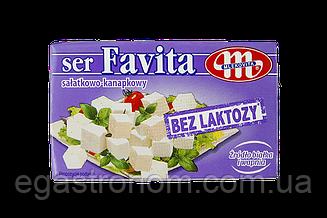 Сир Фета Фавіта без лактози Favita Mlekovita bez laktozy 270g 6шт/ящ (Код : 00-00005396)