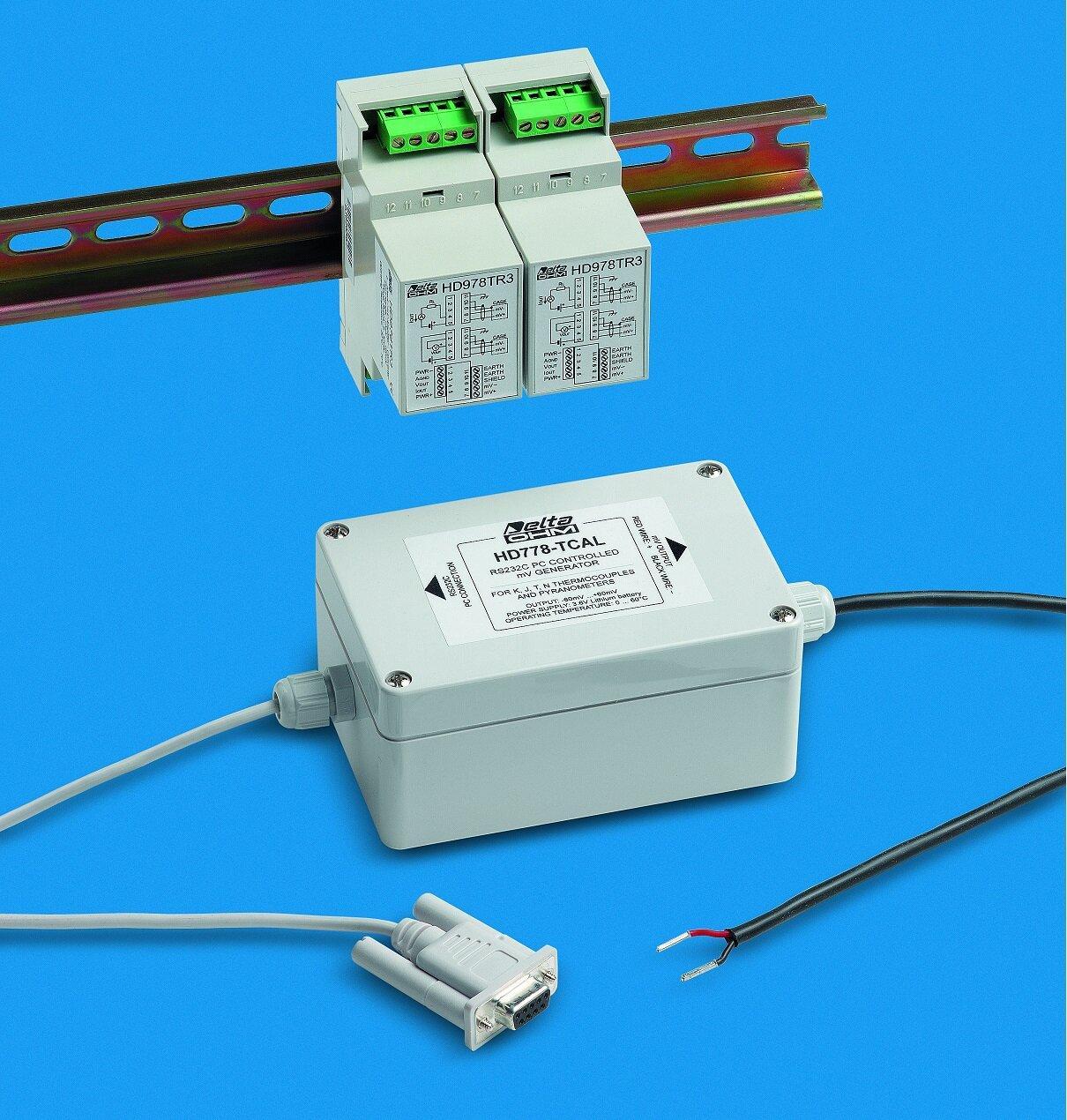 Конвертери-підсилювачі сигналу типу HD-978 з виходом 4-20мА та 0-10В