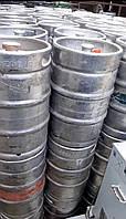 Б/У пивная металлическая кега DIN 50 литров нержавейка ,фитинг тип А флеш,тип S корб