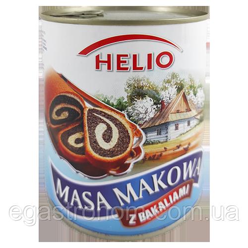 Макова маса Хеліо Helio 850g 6 шт/ящ (Код : 00-00003064)