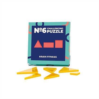Головоломка Challenging puzzle №6, IQ Puzzle Фитнес для мозга, 1 шт