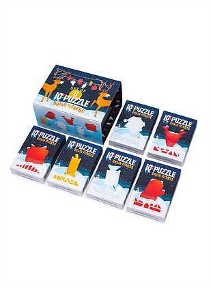 Набор головоломок, IQ puzzle Новогодний сет №2 (лимитированая серия), 6 шт