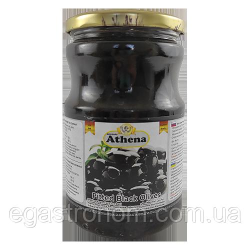 Маслини без кістки Азена Athena 360/700g 12шт/ящ (Код : 00-00000596)