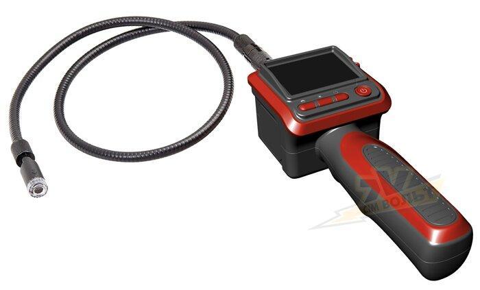 Ендоскопічна відеокамера 17 мм з вбудованим монітором 704х576 TV-BTECH GL-8806