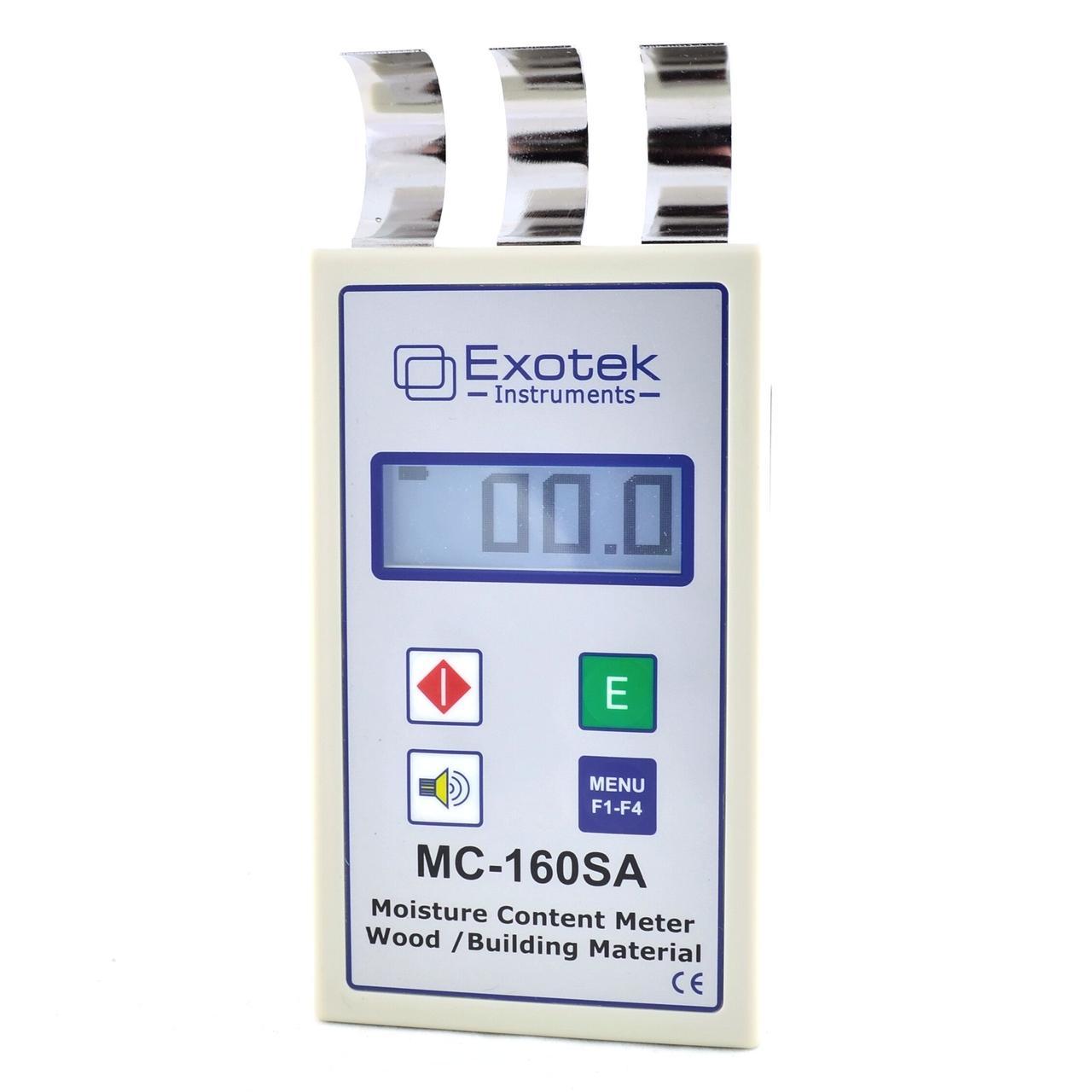 Професійний вологомір деревини та будматеріалів (проникаюча здатність НВЧ 50 мм) EXOTEK MC-160SA