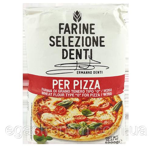Борошно Денті для піци Denti per pizza 1kg 10шт/ящ (Код : 00-00004942)
