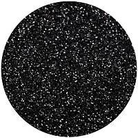 Чёрный глиттер-5 грамм-0,2 мм