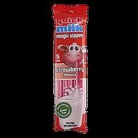 Трубочки для молока Квік Мілк полуниця Quick Milk strawberry 30g*20шт/ящ (Код : 00-00004741)