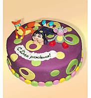 """Детский  торт на заказ """"Хочу в мультик!"""""""