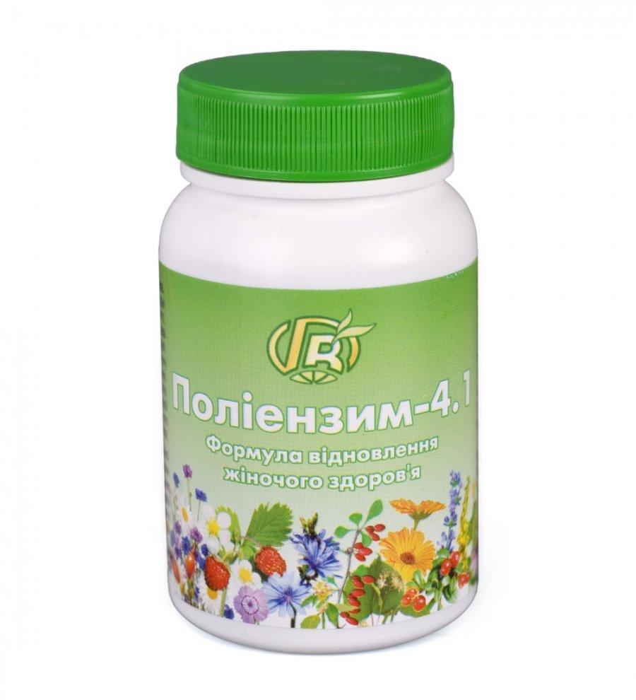 Полиэнзим - 4.1: Формула восстановления женского здоровья, Грин Виза, 280 г