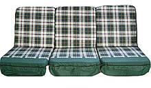 Комплект поролоновых подушек для садовой качели Арт. П-002, Подушка поролоновая, Украина