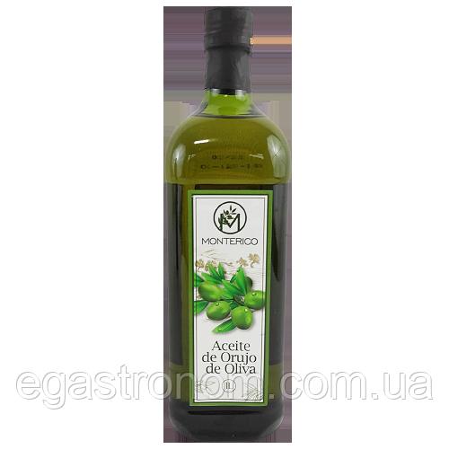 Олія оливкова для смаження Монтеріко Monterico 1L 12шт/ящ (Код : 00-00001706)