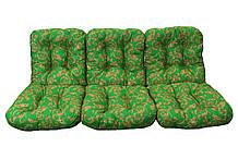 Комплект синтепоновых подушек для садовой качели Арт. С-017, Подушка синтепоновая, Украина
