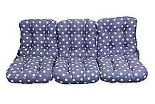 Комплект синтепоновых подушек для садовой качели Арт. С-021, Подушка синтепоновая, Украина
