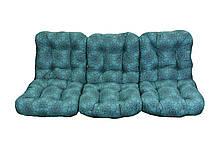 Комплект синтепоновых подушек для садовой качели Арт. С-023, Подушка синтепоновая, Украина