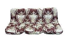 Комплект синтепоновых подушек для садовой качели Арт. С-028, Подушка синтепоновая, Украина