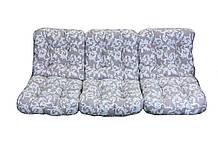 Комплект синтепоновых подушек для садовой качели Арт. С-031, Подушка синтепоновая, Украина