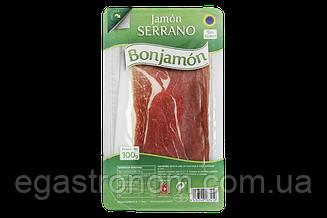 Хамон нарізка Бонхамон Bonjamon 100g (Код : 00-00005201)