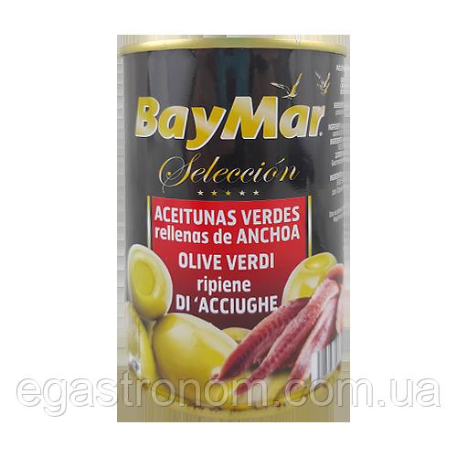 Оливки із анчоусами БейМар BeyMar 130/300g 12шт/ящ (Код : 00-00003344)