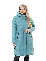 Жіноча демісезонна куртка подовжена, фото 1
