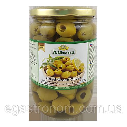 Оливки Азена без кістки Athena 360/700g 12шт/ящ (Код : 00-00000578)