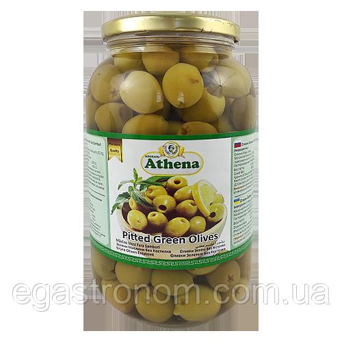Оливки без кістки Азена Athena 600/1250g 9шт/ящ (Код : 00-00000576)