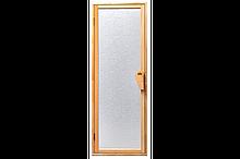 Двері для лазні та сауни Tesli UNO Silvit 1900 х 700, Двері скляні, Україна, 70/190