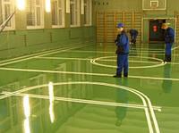 Спортивные покрытия для спортзалов, спортивные покрытия для крытых и открытых залов