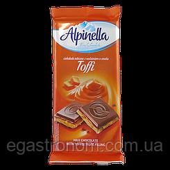 Шоколад Альпінелла карамель Alpinella toffi 90g 22шт/ящ (Код : 00-00003432)
