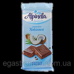 Шоколад Альпінелла кокосова Alpinella kokosova 90g 25шт/ящ (Код : 00-00003435)