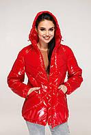 Демисезонная куртка женская большого размера Украина Размеры: 44,46,48,50,52,54,56