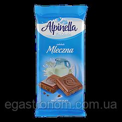 Шоколад Альпінелла молочна Alpinella mleczna 90g 25шт/ящ (Код : 00-00003433)