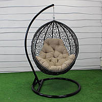 """Подвесное кресло кокон """"Наоми"""" (Арт.-106), Садовая мебель из искусственного ротанга"""