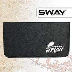 Sway Stylist. Чехол для двух ножниц и одной бритвы, в жестком тканевом корпусе.