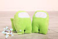 Мягкая Плюшевая Игрушка Амонг Ас Among Us 20 см игрушки амонг ас цвет зелёный, фото 3